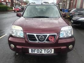 2002 Nissan X-Trial SE PLUS TD ***FULL LEATHER INTERIOR***