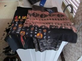 VARIOUS NECK & HEAD WARMERS (NEW & USED)