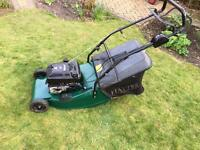 Hayter self propelled lawnmower