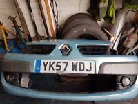 2007 senic 1.5 d front bumper