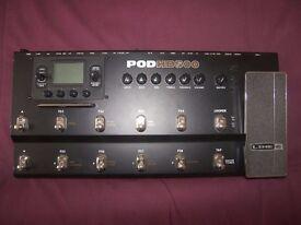 Line 6 POD HD500 effects board