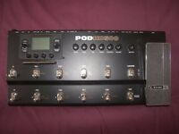 Line 6 POD HD500 effects board