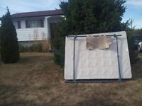 Free queen size box spring and frame