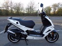 2012 PEUGEOT SPEEDFIGHT 3 50 LC ICEBLADE 9K MILES 2 OWNER 50MPH VGC NEW MOT TAX