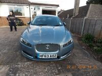 Jaguar XF Bushiness edition, good condition, hardly used hence 9750 mileage. Sale due to illness