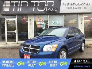 2009 Dodge Caliber SXT ** Low KMs, Well Equipped **