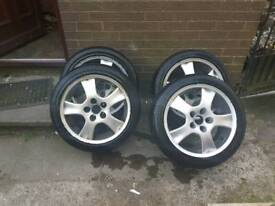 4 Audi alloys 5 stud