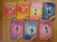 Rainbow Magic Twilight Fairies Books 92 to 98 by D Meadows. Used, good condition. St Leonard's.