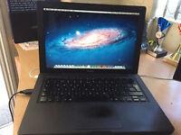 "2008 Apple MacBook Black laptop 13"" inch 2Gb RAM 120GB Intel Core Duo2 MS OFFICE"