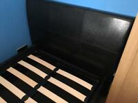 Single bed with storage