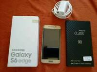 Samsung Galaxy S 6 edge /color---Gold platinum