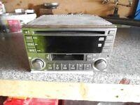 Kenwood Subaru radio / cd / cassette head unit