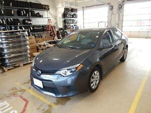 2014 Toyota Corolla LE Fuel economy and style