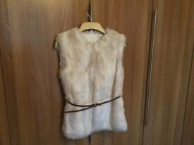 M & S Gilet with Glitter Belt - Age 13/14 (34'' chest)