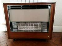 Gas Fire - retro style - Used