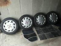 Corsa b Sri gsi steel wheels and trims