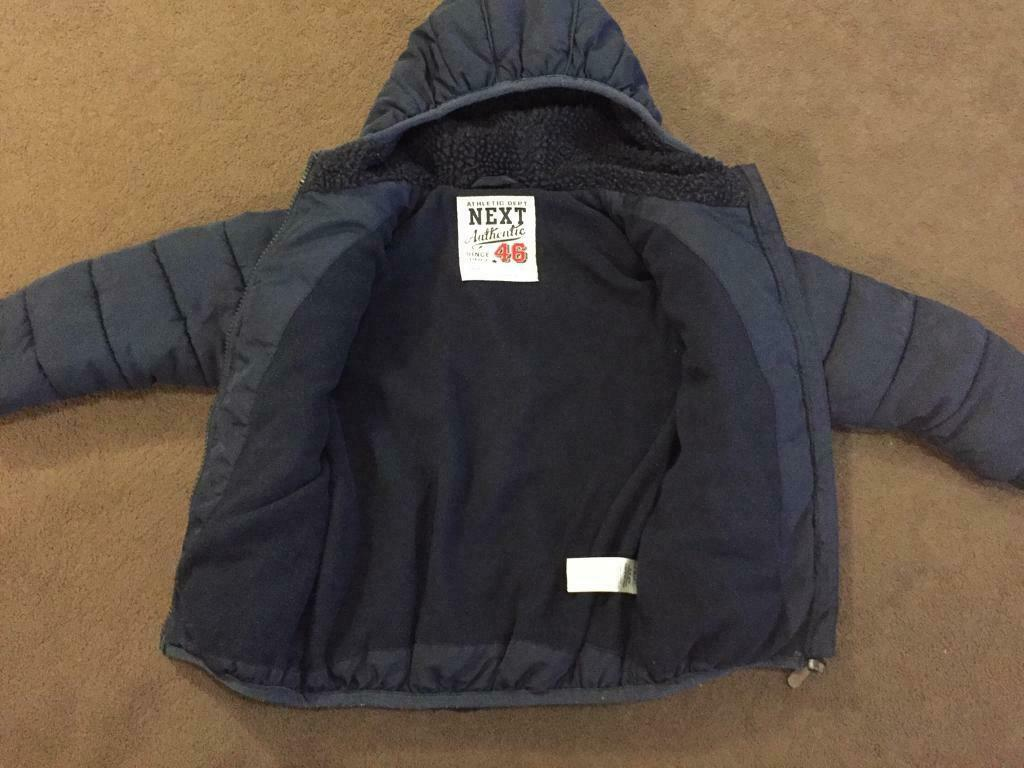 8a8781d16 Boys Next winter coat age 2-3