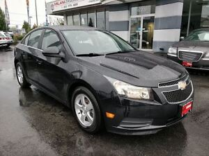 2012 Chevrolet Cruze LT TURBO, Fuel Efficient, IIHS TOP SAFETY *