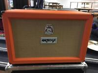 Orange PPC212 speaker cabinet and fitted flight case