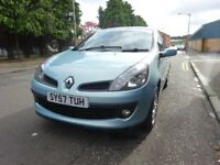 2007 RENAULT CLIO 1.2 PETROL.FULL SERVICE HISTORY,1 LADY OWNER FULL YEAR MOT
