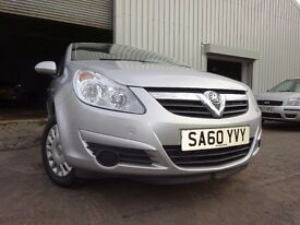 💥60 VAUXHALL CORSA S 1.2,MOT OCT 017,1 OWNER,2 KEYS,PART SERVICE HISTORY,VERY LOW MILEAGE CAR