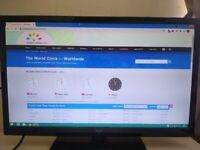 Monitor / TV - 24 inch ; SEIKI, 1080p, HDMI input + others