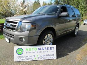2012 Ford Expedition Limited, Navi, 4x4, Insp, Warr