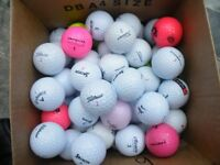 GOLF BALLS 100 USED GOLF BALLS USED ALL CLEAN
