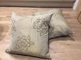 Cushions - pair of