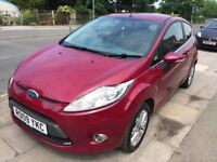 ABSOLUTLEY IMMACULATE FORD FIESTA 1.2 ZETEC 3DR IN GLEAMING METALLIC RED ANY TRIAL OR INSPECTION