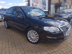 Volkswagen Passat 2.0 TDI Highline DSG, Automatic 4dr FULL LEATHER + HEATED SEATS
