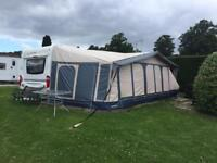 NEW PHOTOS 2010 HOBBY PRESTIGE 720 WITH FULL AWNING FIX BED WE CAN DELIVER READ FUL DESCRIPTION