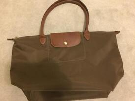 LONGCHAMP Le Pliage Large Shopper Bag – Khaki