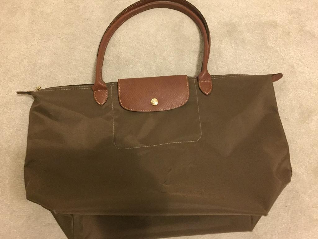 LONGCHAMP Le Pliage Large Shopper Bag – Khaki