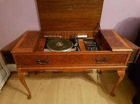 Dynatron radio/record player