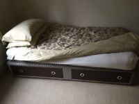 SINGLE BED WITH MATTRESS - FREE TO COLLECTOR