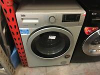 BEKO 7/5KG SILVER WASHER DRYER