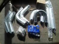 Intercooler pipe kit 3inch brand new