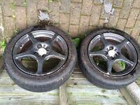 """15"""" Alloys/ part warn tyres"""