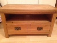 TV unit with dvd drawer
