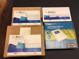 4x boxes of Binding Wires