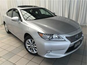 2013 Lexus ES 300h Technology Package: 1 Owner.