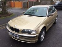 2001 BMW 3 Series 2.2 320i BluePerformance SE Aegean Blue Edition 4dr F/S History @07445775115@