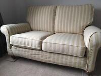 Duresta small sofa & armchair