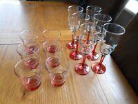SET OF 12 GLASSES