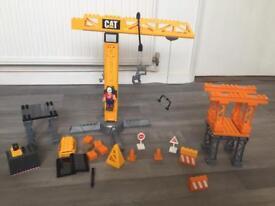Toy CAT Crane Play Set