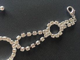 Diamanté bracelet