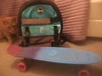 !!!Penny board and backpack!!!