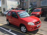2004 04 Suzuki ignis 1.3 gl, one owner just 68k, immaculate car