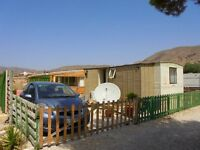 Static Caravan in Spain - On popular UK run campsite, wifi, uktv, pool, bar, shop etc